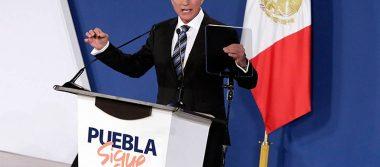 Gali Fayad rinde su primer informe como gobernador de Puebla