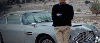 """Subastarán el Aston Martin que James Bond condujo en """"Golden Eye"""""""