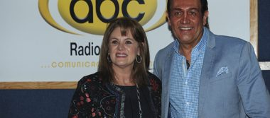 Erika Buenfil, en la emisora ABC Radio