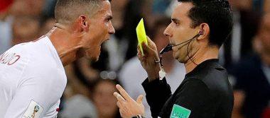 Árbitro mexicano revela qué le reclamó Cristiano Ronaldo en Rusia