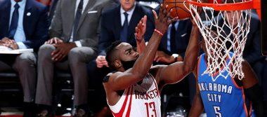 Rockets de Houston le ganan a los Thunder de Oklahoma en la Conferencia Oeste