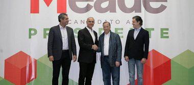 Calzada Rovirosa se une el equipo de Meade como líder de Movimiento Territorial