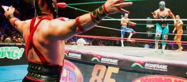 Lluvia de estrellas en la Arena México, se presentó la función Martes de Nuevos Valores