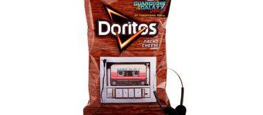 ¡Increíble! Bolsas de Doritos reproducirán mix de los Guardianes de la Galaxia