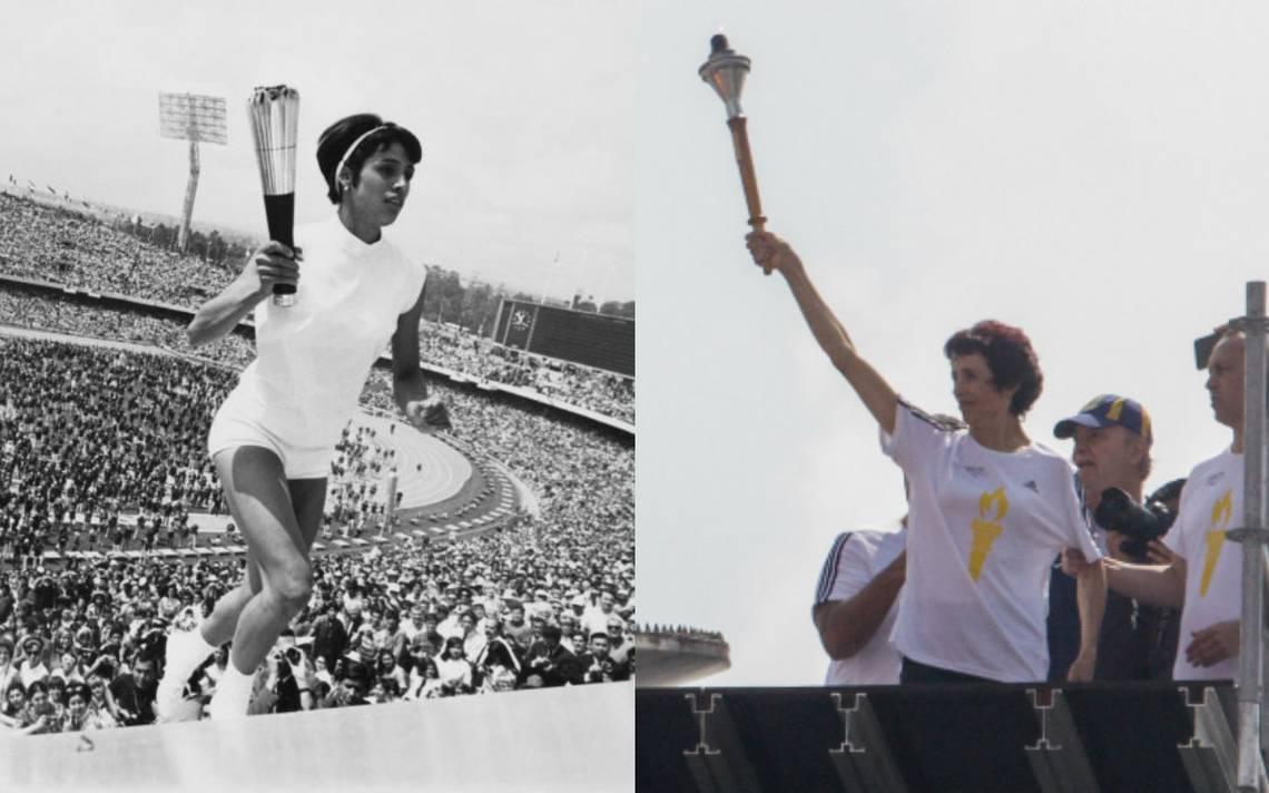 Enriqueta Basilio enciende el recuerdo de los jóvenes del 68 en el estadio Olímpico