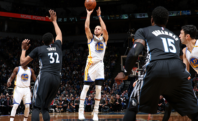 Minnesota hundió a Warriors
