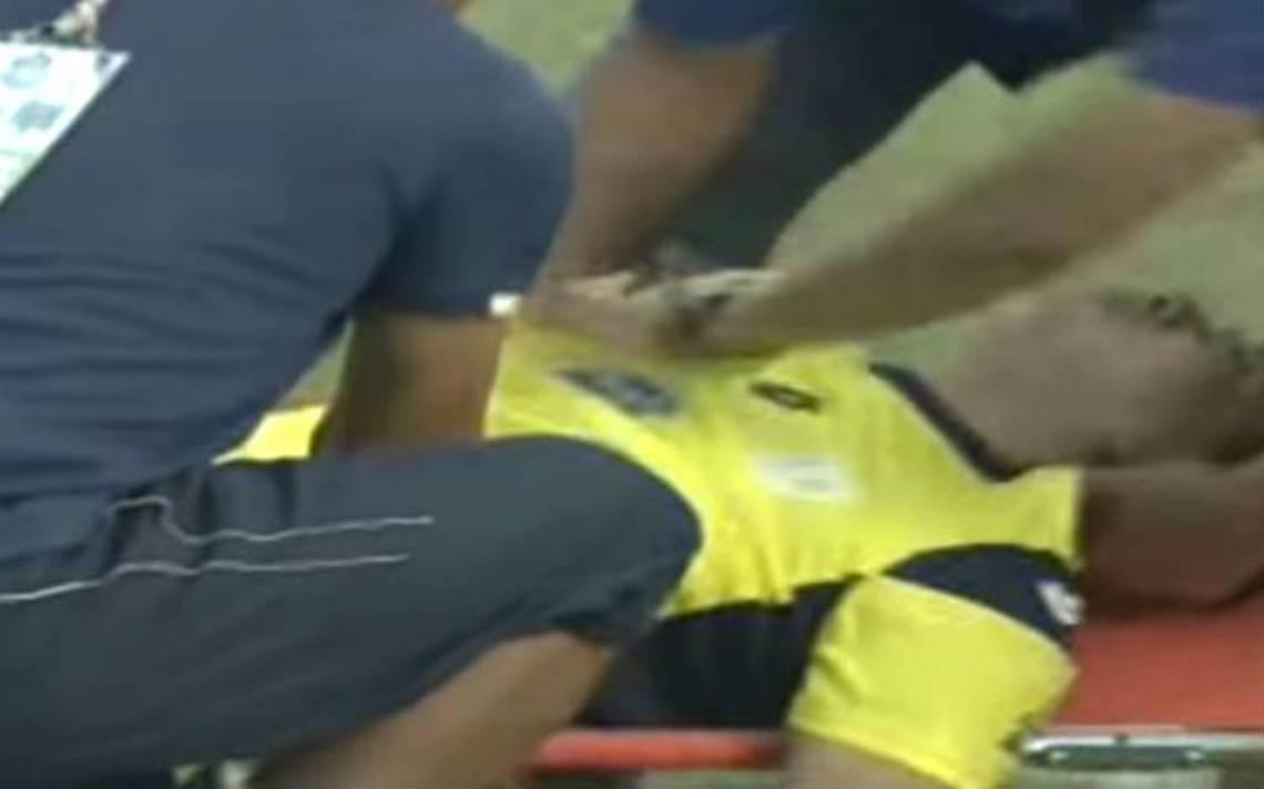 [Video] Portero pierde la vida tras fulminante golpe en la cabeza