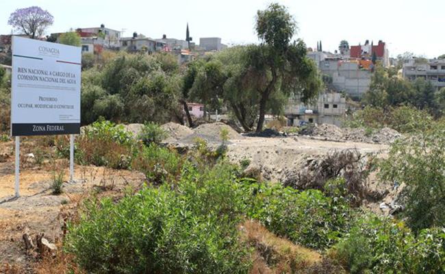 Prohíbe Conagua venta de lotes en zona federal de Puebla