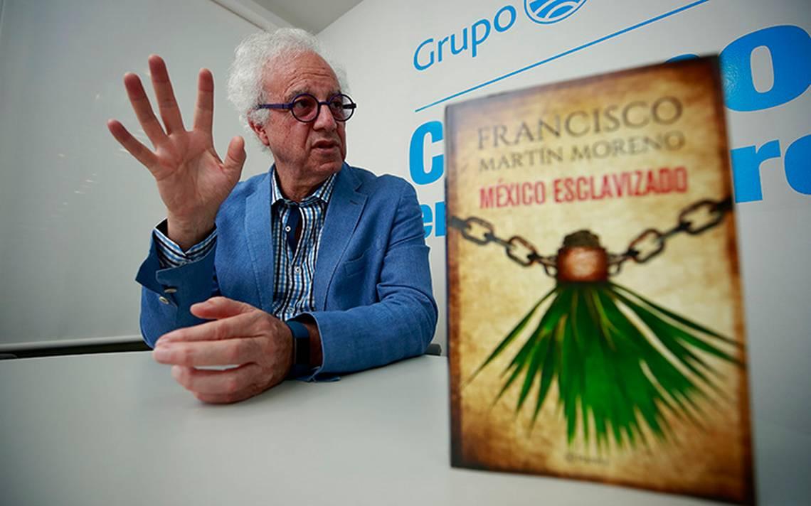 Francisco Martín Moreno habla en su nuevo libro de la opresión campesina de principios del siglo XX