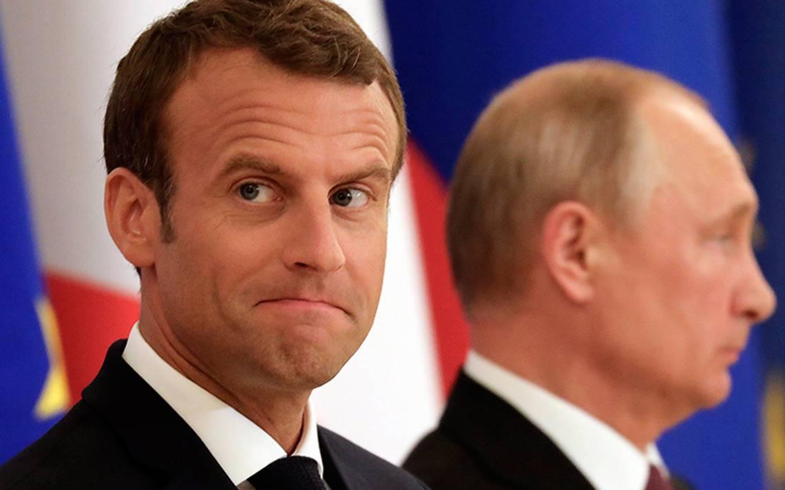 """""""Fue un diálogo extremadamente franco y directo"""", Putin y Macron sin acuerdo aparente"""