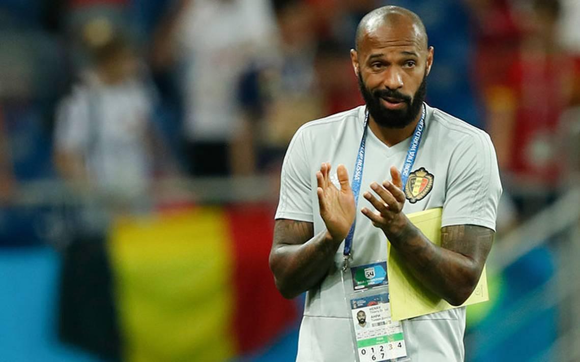 """Thierry Henry, la leyenda del futbol francés, se viste de """"Diablo Rojo"""" de Bélgica"""
