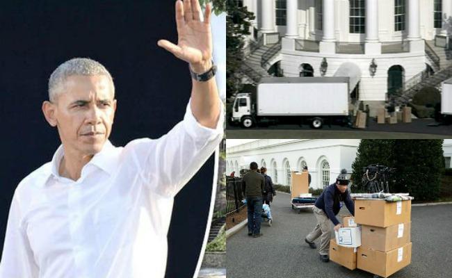¡Adiós a la Casa Blanca! Así se mudaron los Obama