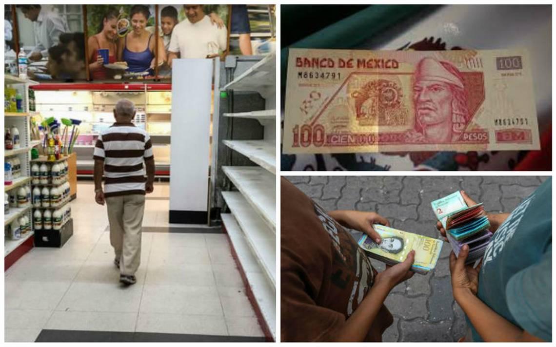 ¿Qué puedes comprar con 100 pesos mexicanos en Venezuela?