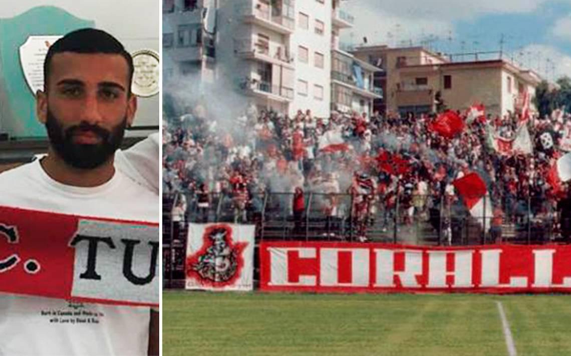 Futbolista italiano orina hacia afición rival y lo suspenden cinco partidos
