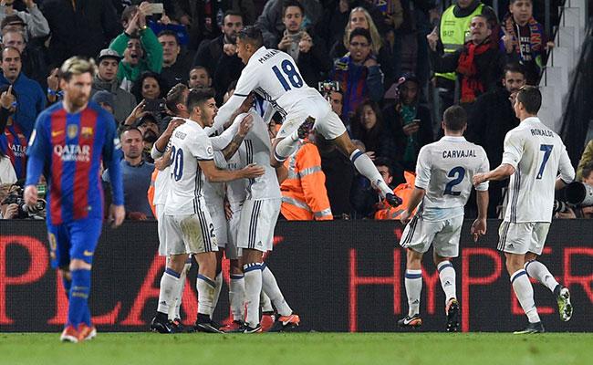 Real Madrid empata a Barcelona en el último minuto