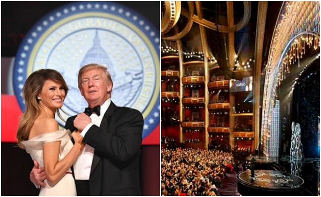 Baile de Trump en la Casa Blanca vs Premios Oscar 2017