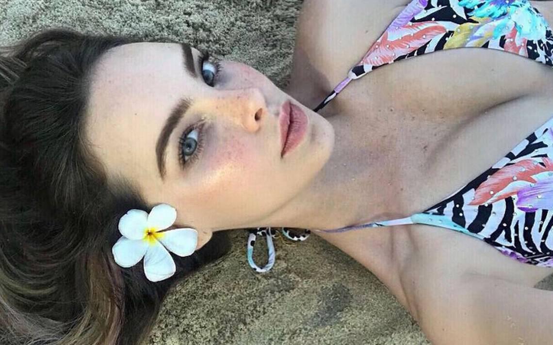 Ni tan morena… Belinda luce diminuto bikini y lo presume en Instagram