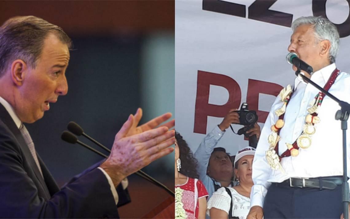 Meade no quiere conducir política exterior a tuitazos pero AMLO sí. Candidatos responden a Trump