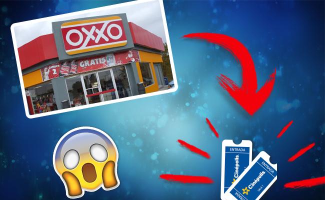 Ya puedes comprar boletos de Cinépolis en el Oxxo