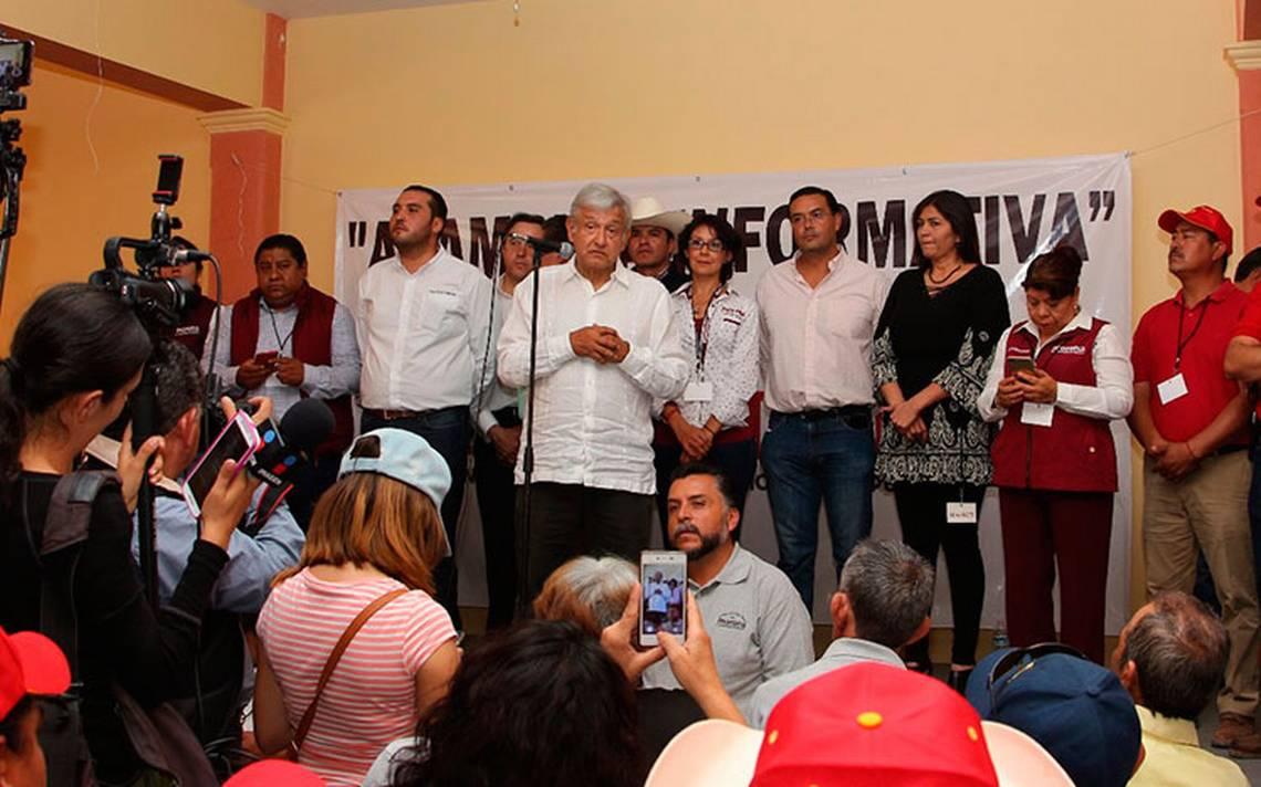No afectarán a Morena los independientes a la Presidencia: López Obrador