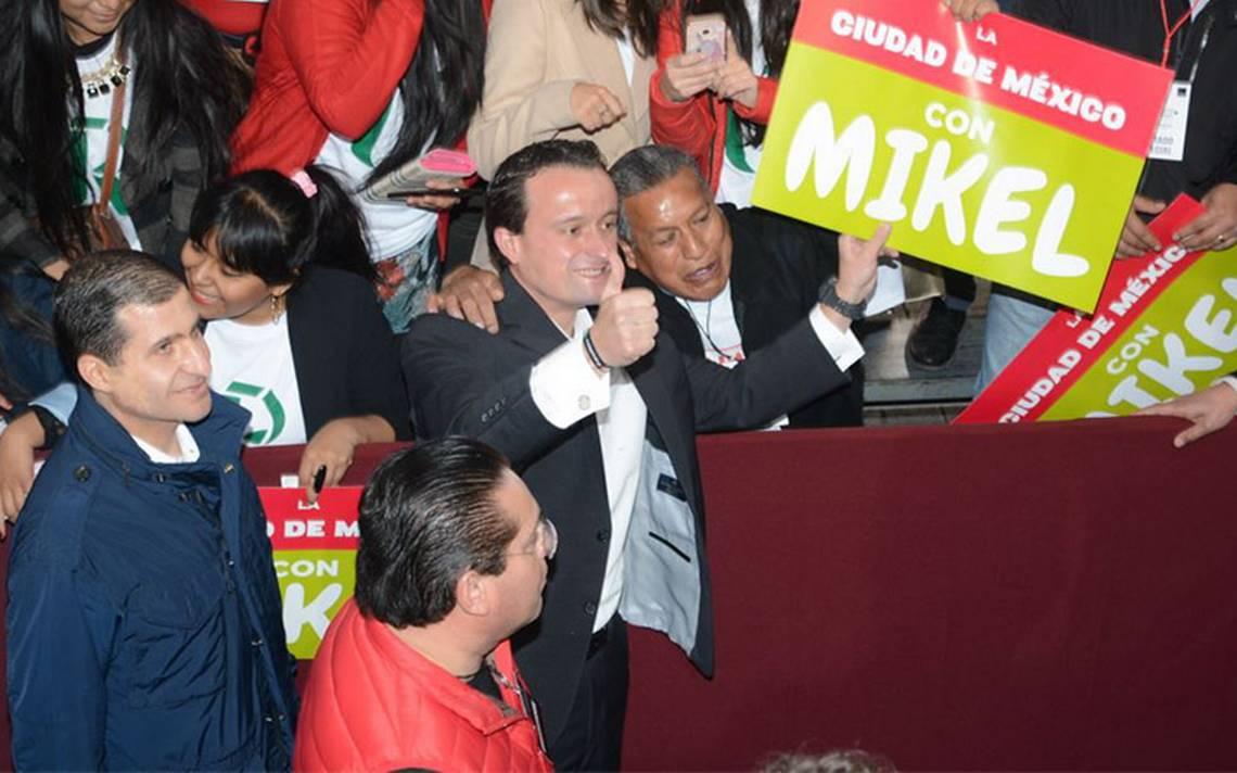 Quiero poner al servicio de la CDMX una trayectoria profesional: Mikel Arriola
