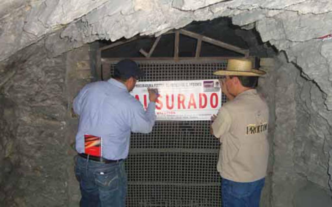 Sin reclamar, aseguradas presuntas minas del narco