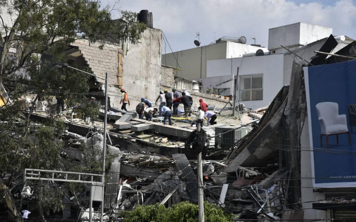 Reportan 151 desaparecidos en CDMX; han localizado 246 tras sismo