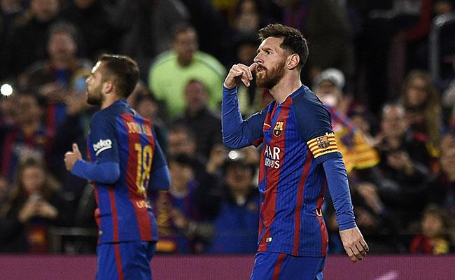 Messi logra otro récord: 100 dobletes con el Barcelona