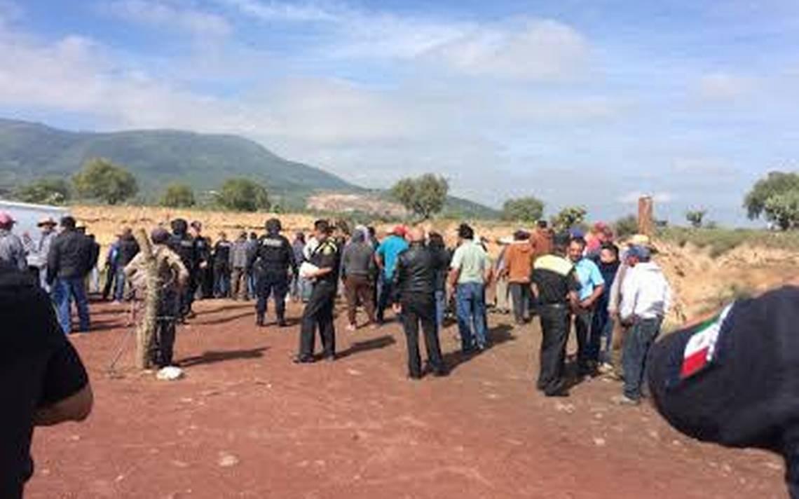 Matan a policías en Teotihuacán: vigilaban mina donde extraen material para el NAIM