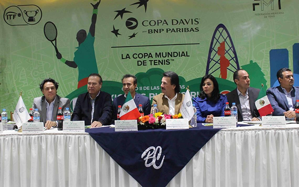 Tijuana albergará la Copa Davis