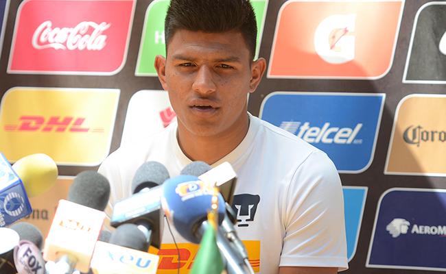 Jesús Gallardo en el ataque ante ausencia de Castillo