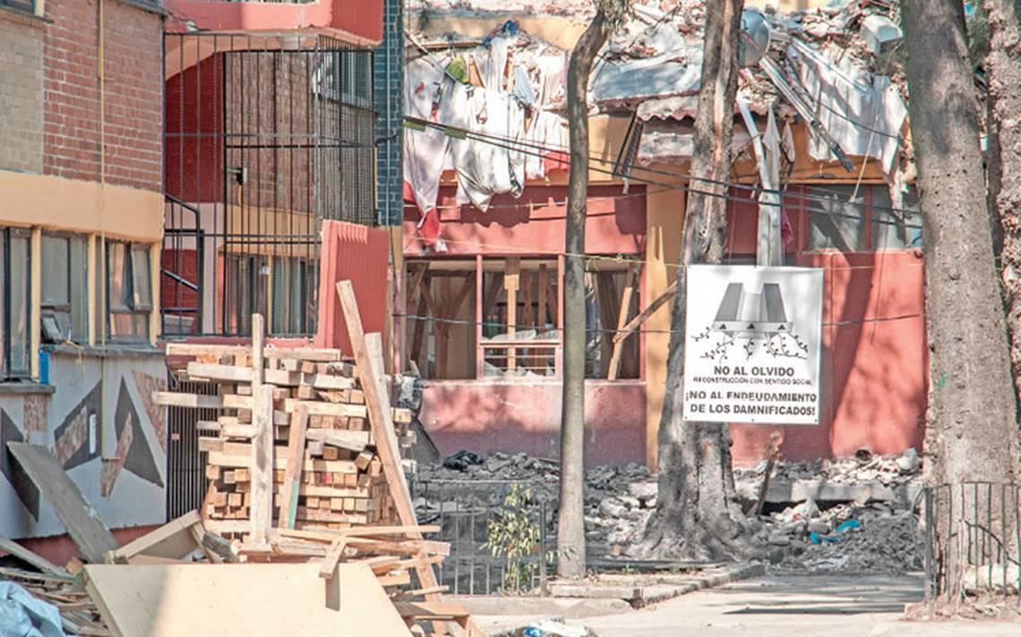 Se implementarán nuevas normas constructivas en reconstrucción del multifamiliar Tlalpan