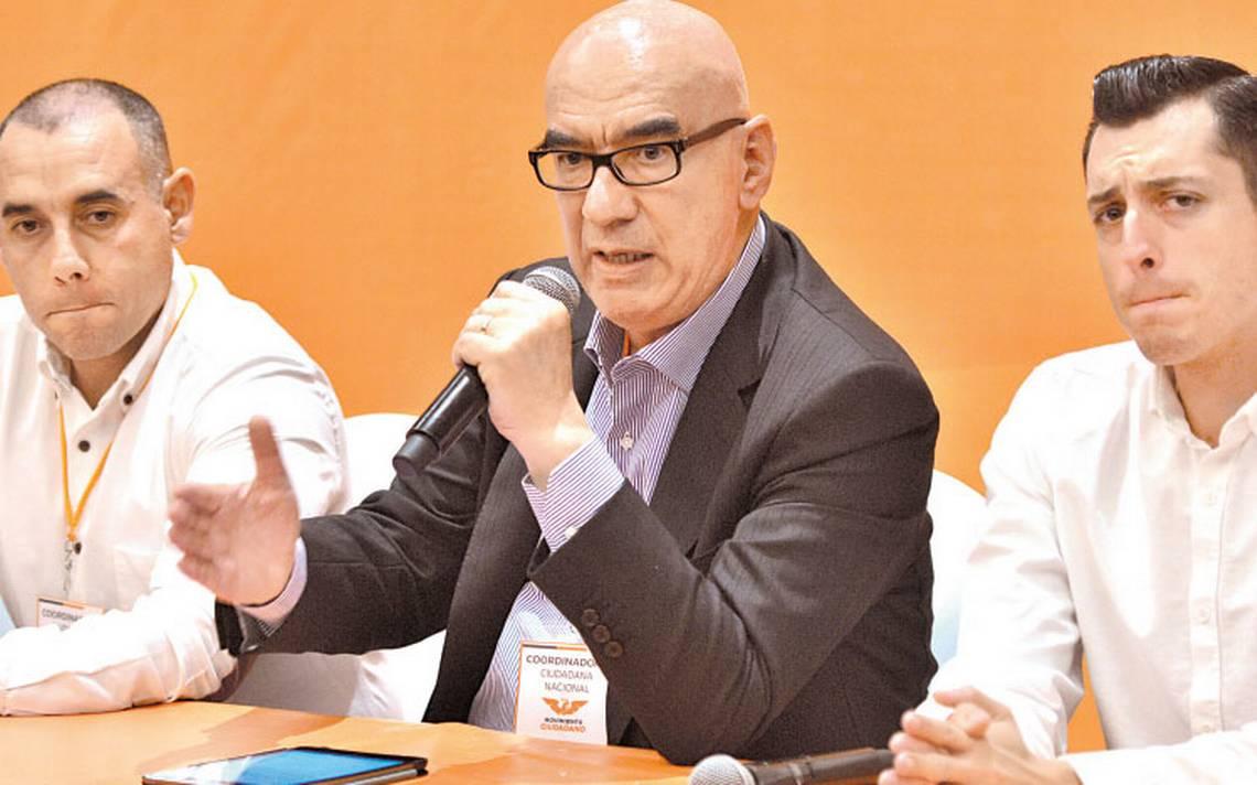 Dante Delgado coordinará a Movimiento Ciudadano en el Senado