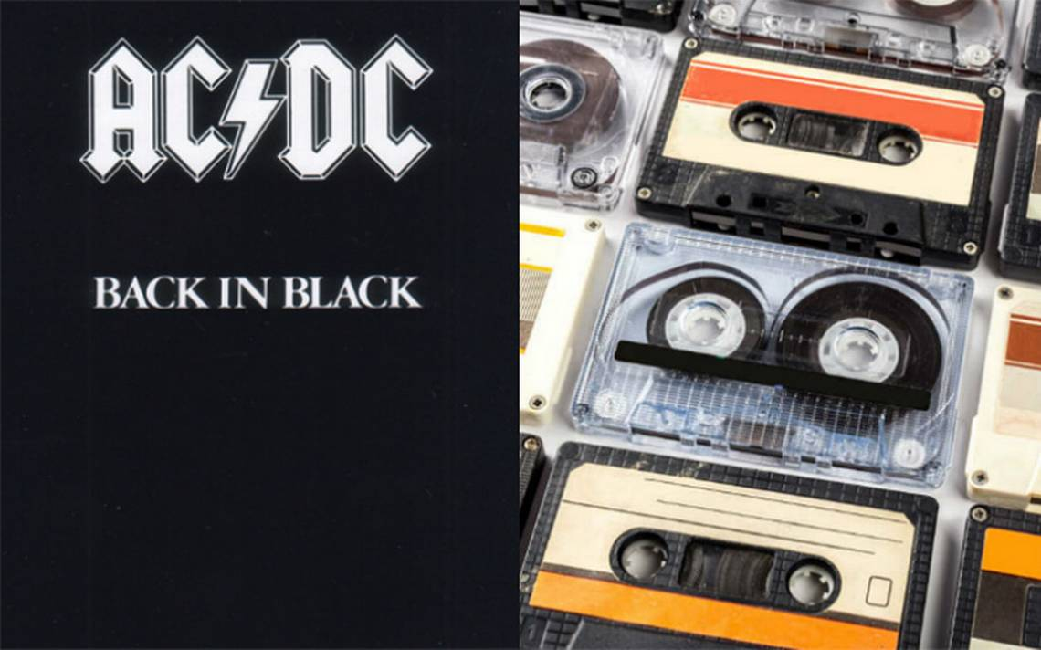 "A desempolvar la grabadora, ""Back in Black"" de AC/DC vuelve a las tiendas en ¡cassette!"