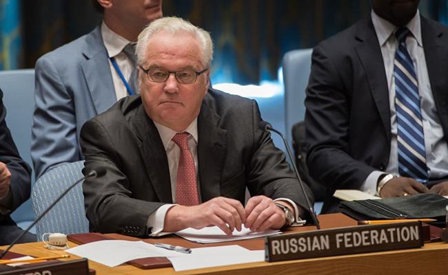 Muere repentinamente en Nueva York el embajador ruso ante la ONU Vitali Churkin
