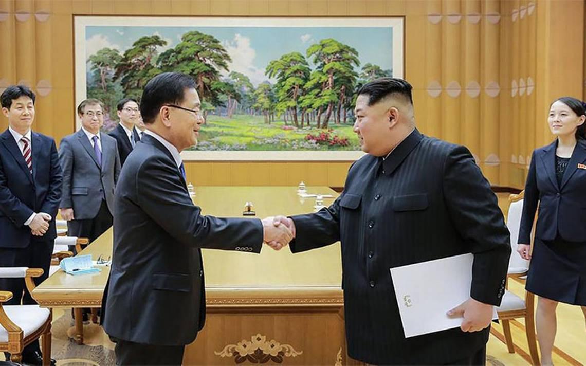 Coreas celebrarán cumbre histórica en abril; Pyongyang renunciaría a su armamento nuclear