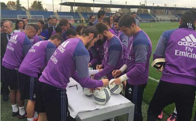 ¡Al fin! Encuentran balones autografiados por el Real Madrid