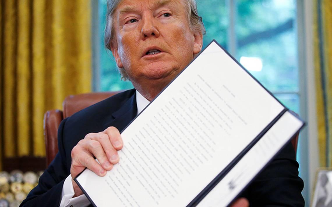 """""""No me gustaba ver a las familias separadas"""", Trump firma decreto"""
