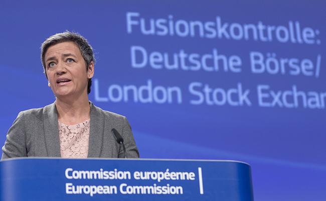 La Comisión Europea (CE) veta la fusión de las bolsas de Londres y Fráncfort