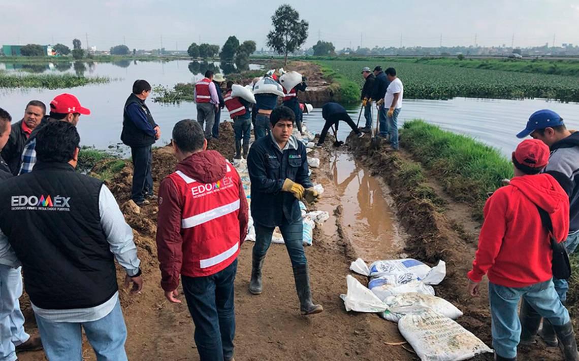 Avanzada 60% reparación en fisura del Río Lerma; quedaría concluida este domingo