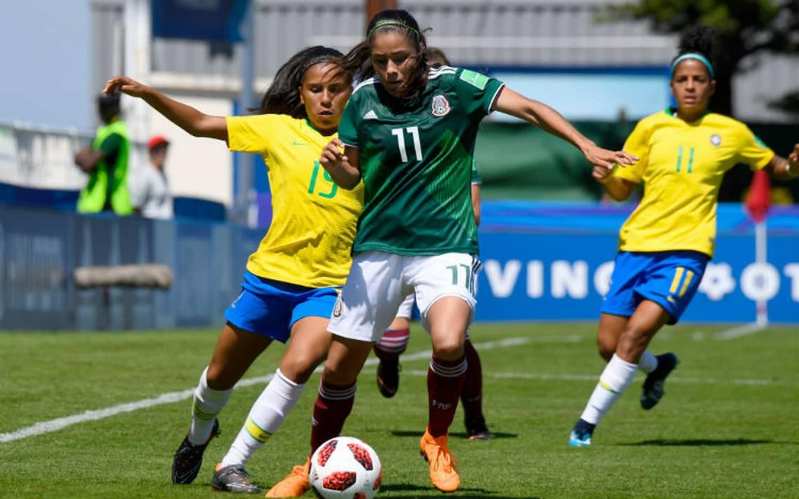 Tri Sub 20 debuta en Mundial femenil con sufrido triunfo ante Brasil
