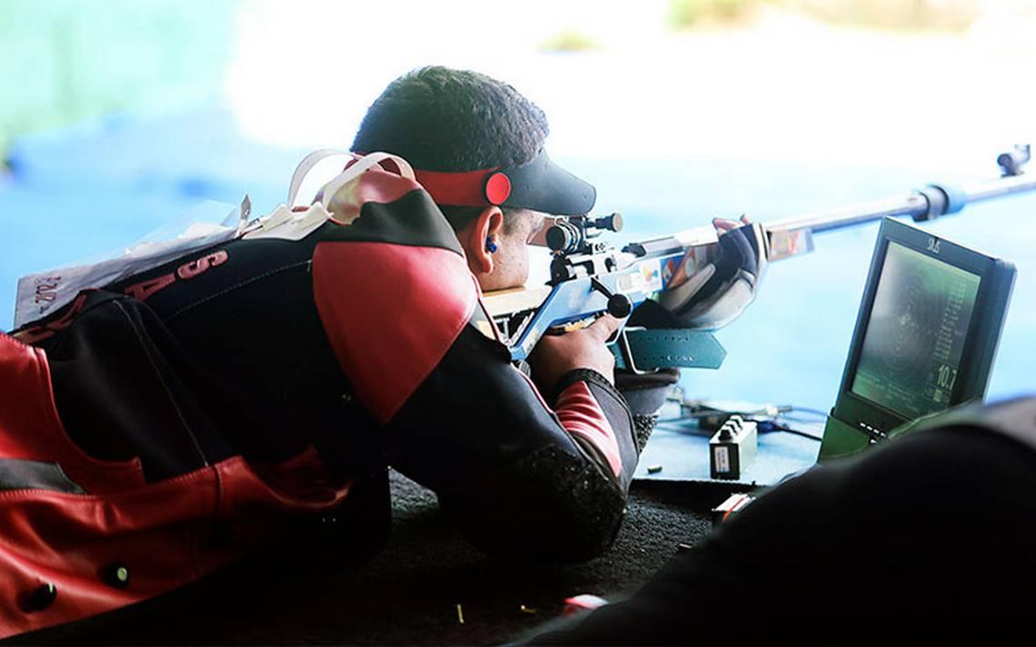 José Sánchez conquistó medalla de oro en la prueba de 50 metros con rifle