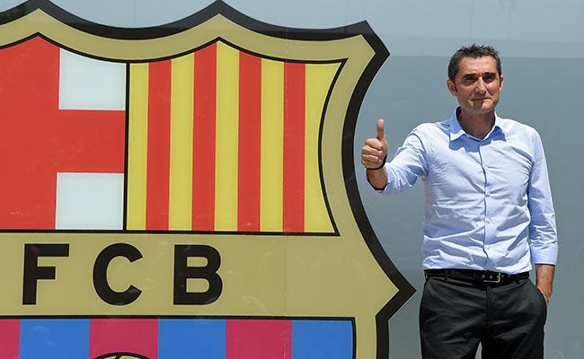 Ernesto Valverde el nuevo técnico del Barcelona