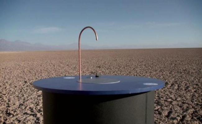 Crean una máquina que  convierte el aire en agua