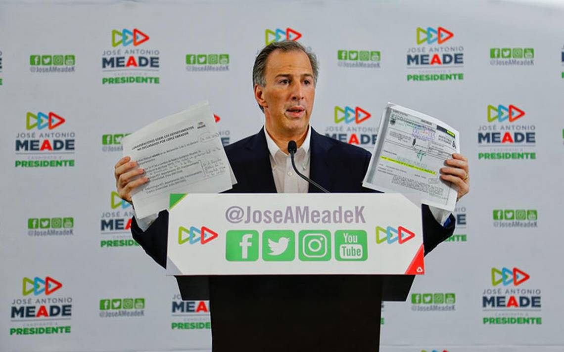Meade presenta pruebas sobre departamentos de AMLO: se los daré a damnificados