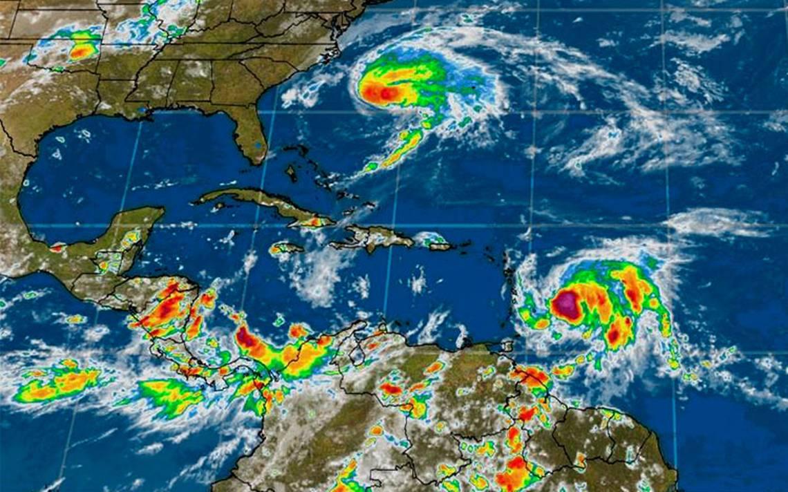 María cobra fuerza y se vuelve categoría 1; amenaza Puerto Rico