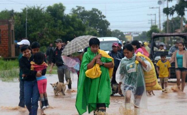 Intensas lluvias dejan 8 muertos y 614 damnificados en Bolivia