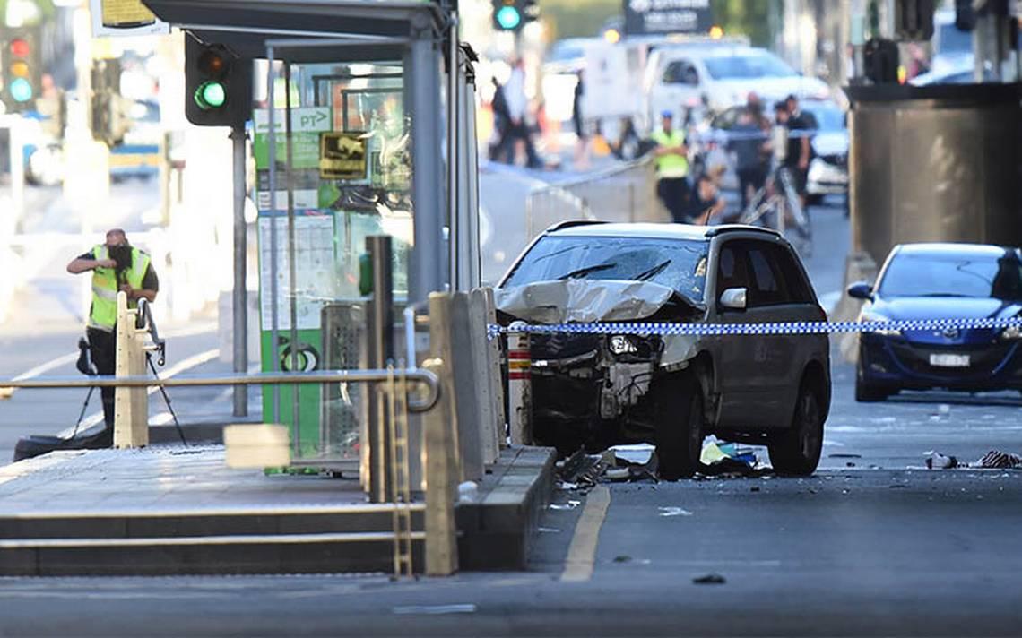 Sube a 19 la cifra de heridos tras atropello en Melbourne