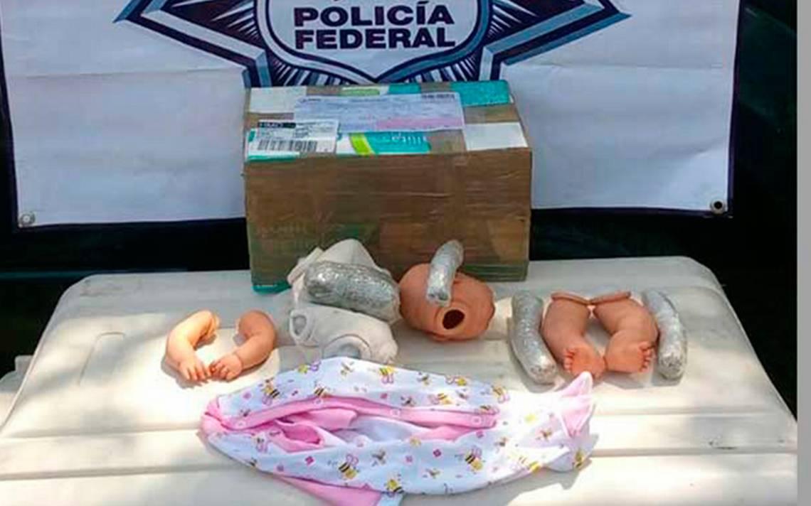 ¿Bebé malo? Encuentran muñeco repleto de droga en Jalisco