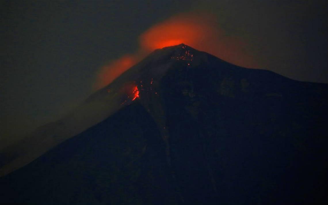 Volcán de Fuego concluye erupción tras más de 15 horas con saldo de 25 muertos